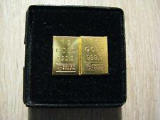 Gold 999,9 Barren + 2x1 Gramm in Geschenketui