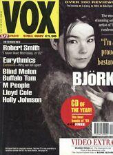 BJORK DIANA RIGG THE AVENGERS VOX MAGAZINE DEC 1993 A1739