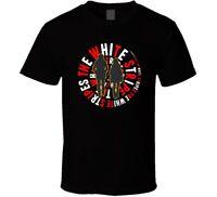 The White Stripes Logo Rock Music shirt black white tshirt men's free shipping