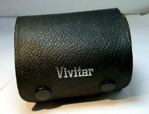"Vivitar Hard lens case 2.5X3.5"" for 3X lens 28mm"