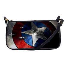 New Captain America Shield Avengers Shoulder Clutch Bag Purse Handbag Gifts Idea
