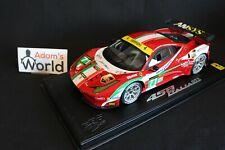 BBR AF Corse Ferrari 458 Italia GT2 2013 1:18 #71 20th place 24h Le Mans (PJBB)
