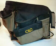 Carpenter Contractor Electrician Construction Tool Belt Pouch Pocket 14 Pockets