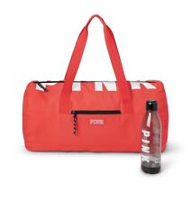 NWT Victoria's Secret PINK FRIDAY Gym Bag Duffel and Water Bottle