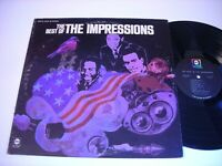 The Best of the Impressions 1968 Stereo LP VG++