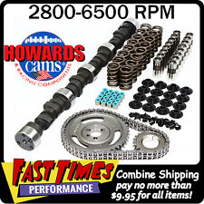 """HOWARD'S SBC Small Block Chevy Solid Flat Tappet 285/285 525""""/525"""" 106° Cam Kit"""