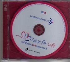 (CJ881) Race For Life, Official 2010 Soundtrack - 2010 DJ CD