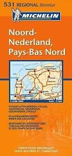 Noord-Nederland Pays-bas Nord (Michelin Maps),VARIOUS,New Book mon0000025025