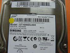 1 TB Samsung ST1000DL004 / HD105SI / P/N: A8683-CA4A-A2APS / CSO: 1419-7