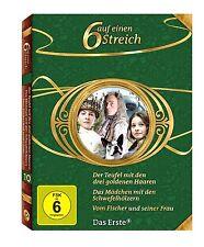 3 DVDs * MÄRCHENBOX VOL. 10 |  6 SECHS AUF EINEN STREICH # NEU OVP >