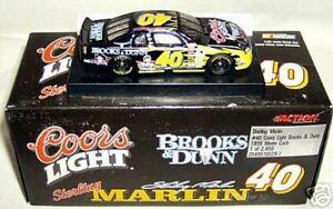action 1/64 #40 COORS BROOKS & DUNN 1999 M/C MARLIN