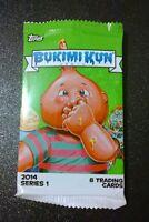 Garbage Pail Kids - GPK - Bukimi Kun - Empty Wrapper - 2014