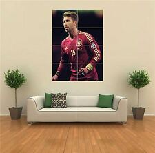 SERGIO RAMOS FOOTBALL NEW GIANT LARGE ART PRINT POSTER PICTURE WALL G1508