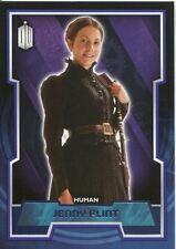 Doctor Who 2015 Purple Parallel [99] Base Card #134 Jenny Flint