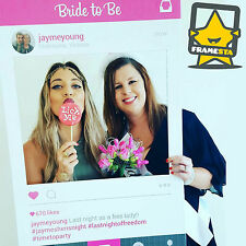 Hen's Party Photo Booth Props (60 x 90 cm) Instagram Frame