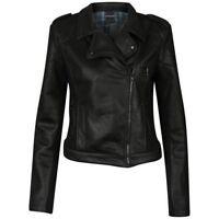 ATTICUS- WOMENS DEATHBED BIKER JACKET MEDIUM (M NEW) Blink 182 Muse Leather Look
