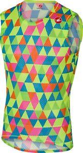 Castelli Pro Mesh Sleeveless Baselayer Size Large Multicolor