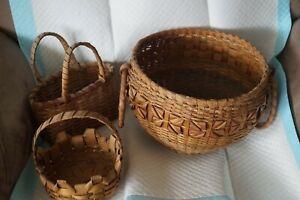 Three Antique Baskets