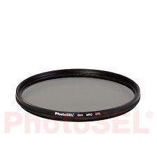 PhotoSEL CAFLC155 55mm Super Slim Multi-Coated MRC Screw-in Polarizer Filter CPL