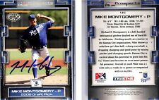 Mike Montgomery Signed 2008 TRISTAR Prospects Plus #44 Card Auto Autograph