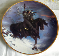 Spirit Of The West Wind Plate Franklin Mint