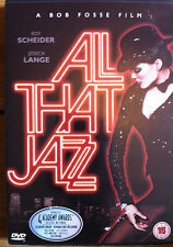 ALL THAT JAZZ BOB FOSSE ROY SCHEIDER JESSICA LANGE FOX UK REGION 2 DVD  NEW