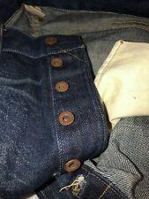 RRL Ralph Lauren Double RL New Jean Pant 34 X 32 Straight Japan Selvedge Denim