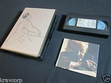 ARTHUR RUBENSTEIN 'THE COLLECTION' 1999 PRESS KIT w/2-CD SET & VHS TAPE