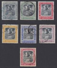 Barbados set 1905 Nelson centenary sg145-151 used
