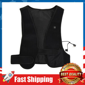 Infrared Heating Vest Back, Chest, Neck & Shoulders Sore Muscle Pain Relief