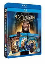 NIGHT AT THE MUSEUM 3 FILM COLLECTION 1 2 3  BEN STILLER  BLU RAY SET