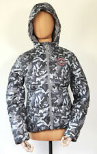 a69fe2e99b7a New all Star Converse Ladies Winter Jacket Hooded Camouflage SIZE S