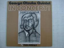 GEORGE OTSUKA QUINTET IN CONCERT / TBM