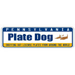 PLATE DOG LICENSE PLATES