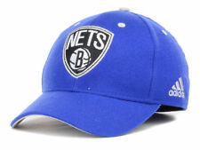Brooklyn Nets Adidas Super flex NBA Blue Flexfit Cap Hat Lid S/M