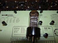 Röhre Tronal GZ 34 Tube 70 mA Valve auf Funke W19 geprüft BL-1874