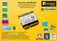 Atheros AR9462 AR5B22 Minipci-Express 802.11N 300Mbit Bluetooth WIFI 2.4ghz 5ghz