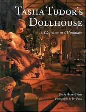 TASHA TUDOR'S DOLLHOUSE A Lifetime in Miniature HARDCOVER OOP Library Copy