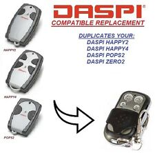 Daspi Happy 2 / Daspi Happy 4 compatible remote control, 433,92Mhz Clone