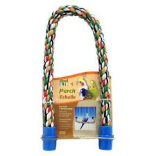 """Penn Plax Rope Perch For Small And Medium Birds 21""""L x 5/8"""" Diemater"""