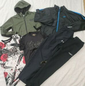 12-13 Years Boys nike sonneti under armour joggers tops Bundle (A4)