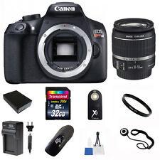 Canon EOS Rebel T6 18MP DSLR Camera + 18-55mm Lens + 32GB Accessory Kit
