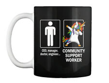 Stylish Community Support Worker Gift Coffee Mug Gift Coffee Mug