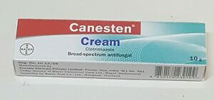 Canesten Cream For Vaginal Yeast Infection,Candia,Thrush,Ringworm 10 G
