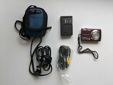 Nikon COOLPIX S220 10.0MP Digital Camera - Purple - With Accessories