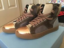 LANVIN MEN HIGH TOP SNEAKERS $695 Retail. Size 9.5 US