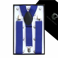 Men's Royal Blue Y3.5cm Extra Large Braces