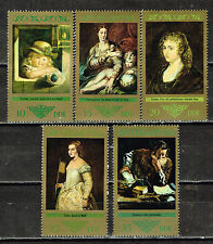 Germany DDR Art Famous Paintings Dresden Gallery stamps 1971 MNH
