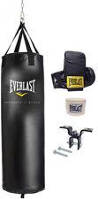 70 lb Heavy Bag Kit Boxing Bag & Gloves Fitness Training Punching Everlast