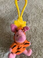 NEW Disney Tigger The Movie Pink Piglet Costume Fleece Keychain Backpack Toy